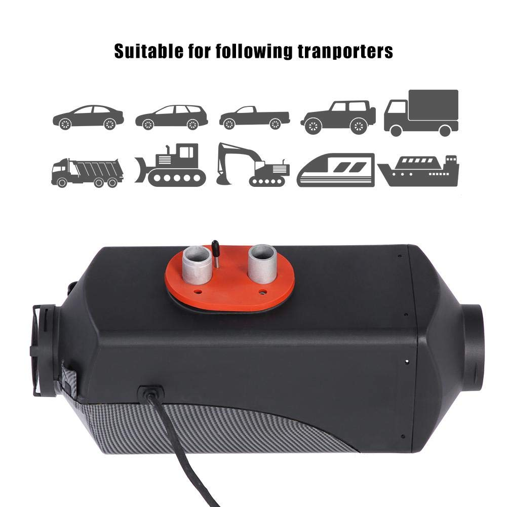 5 KW 12 V Diesel Heizung Auto Air Heizung Parkheizung LCD Monitor Thermostat f/ür Furgoni RV LKW Anh/änger