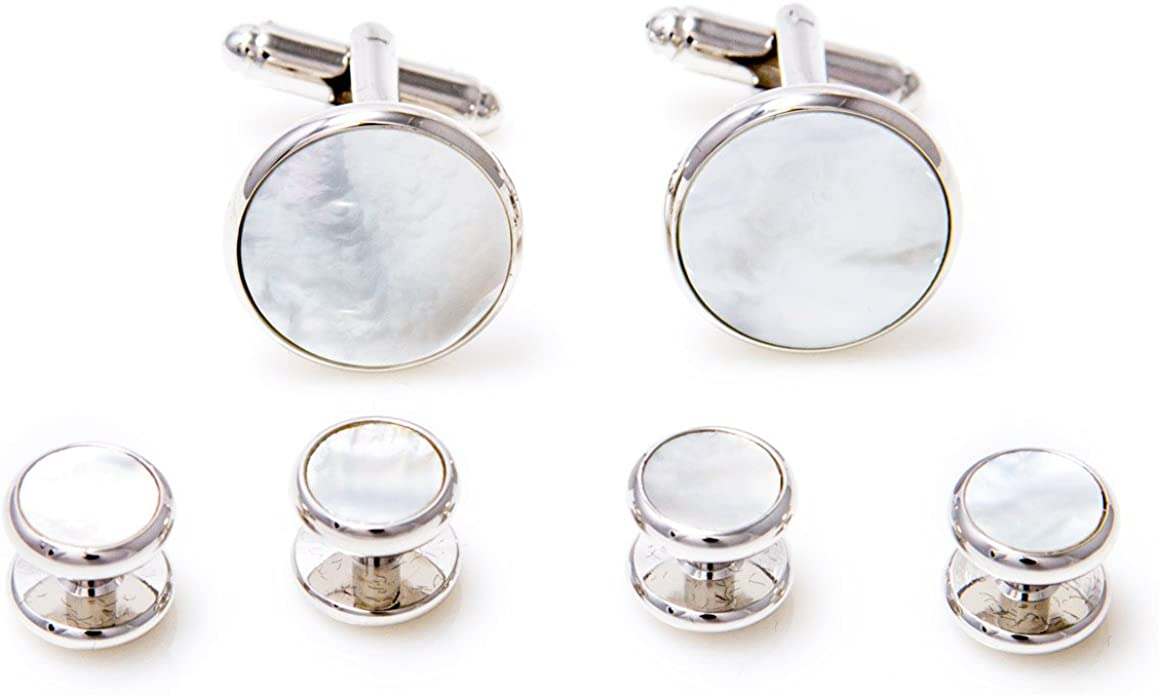 Mother-of-Pearl Cufflink Set