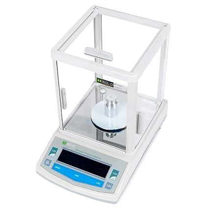 U.S. Solid - Báscula digital de precisión, resolución de 1 mg, hasta 300 g, aleación de aluminio fundido: Amazon.es: Industria, empresas y ciencia