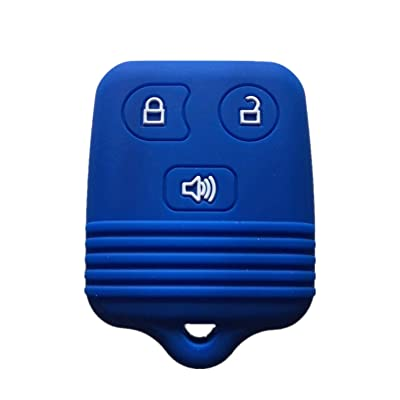 Rpkey Silicone Keyless Entry Remote Control Key Fob Cover Case protector For Ford Lincoln Mercury Mazda CWTWB1U331 GQ43VT11T CWTWB1U345 8L3Z15K601B 8L-3Z-15K-601B: Automotive