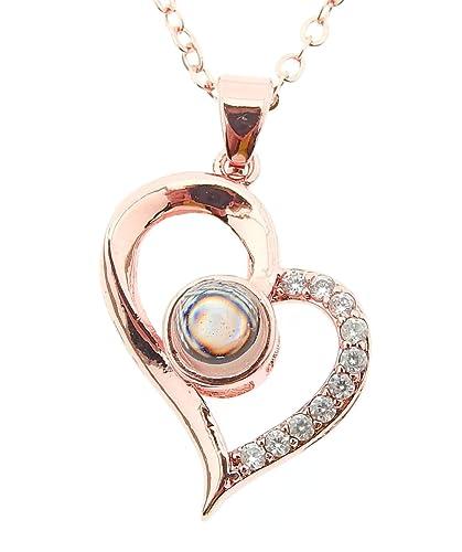 Lovelegis Collar de Mujer - Corazón - Proyecta - Ti Amo ...