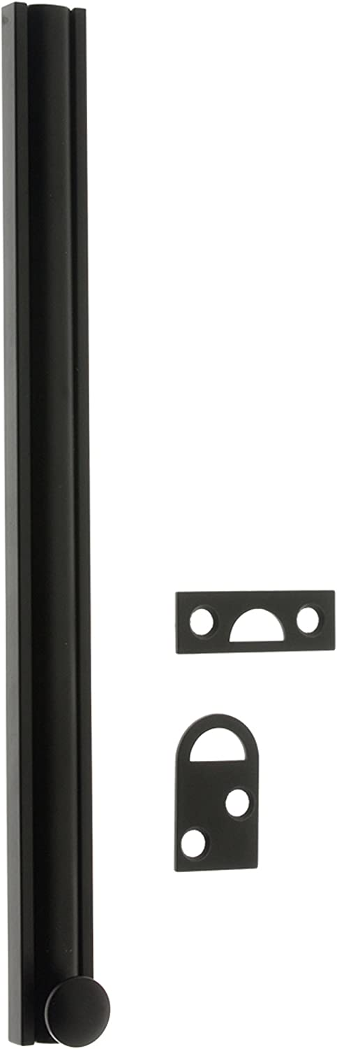 idh by St Simons 11042-10B Professional Grade Quality Solid Brass 2 Surface Bolt 2-Inch Oil-Rubbed Bronze