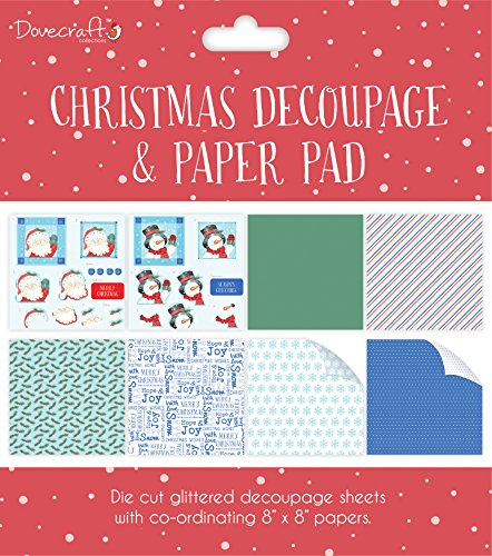 Decoupage Pad (Trimcraft Dcdpg006 Dovecraft Decoupage & Paper Pad 8
