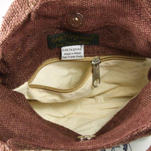 Earth-Divas-NHB-111-BGBN-S-O-Blue-Fringe-Hemp-Small-Handbag-With-Organic-Cotton-Lining