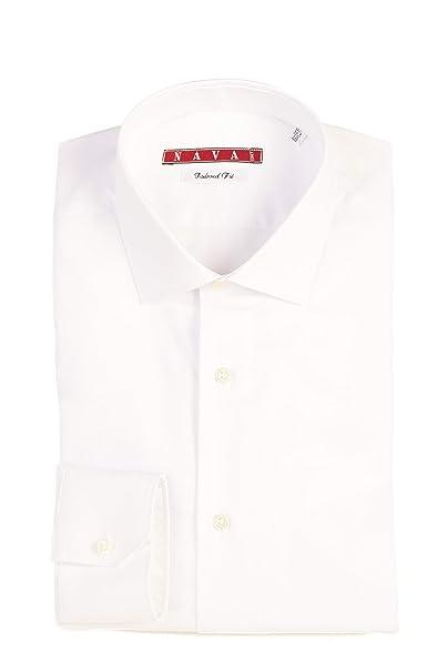 Bianca Uomo Lunga Oxford Camicia Made In Oxford Manica Italybianco 100Cotone l1KJFcT