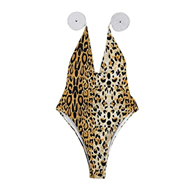 OrchidAmor 2019 Women Leopard Snake Bandage One Pieces Bikini Swimwear Swimsuit Beachwear at Amazon Womens Clothing store: