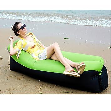 Bny Inflatable Lounger Chair Sofa Bed Air Sofa Sleeping Bag Couch Bean Bag  Chair For Beach