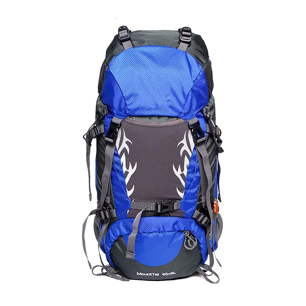 QP Outdoor Hiking Backpack/Large Capacity Design 50L / Outdoor Leisure Backpack (Color : A)