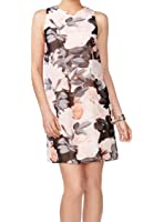 Vince Camuto Womens Chiffon Floral Print Casual Dress