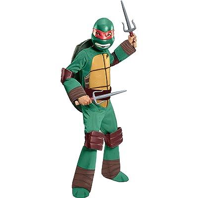 Rubie's Teenage Mutant Ninja Turtles Deluxe Raphael Costume, Toddler: Toys & Games