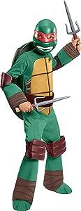 Rubie's Teenage Mutant Ninja Turtles Deluxe Raphael Costume, Medium