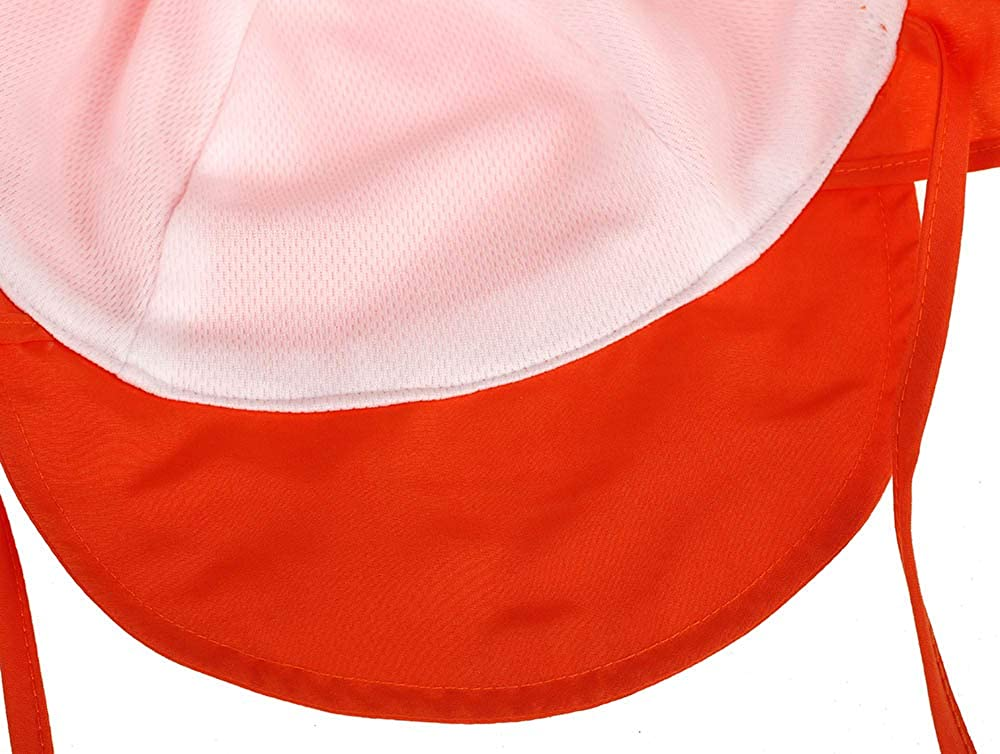 Hongyi Children Kids Sun Protective Hat with Chin Strap Neck Flap Baby Hats,Sun hat Summer,Breathable Quick-Dry