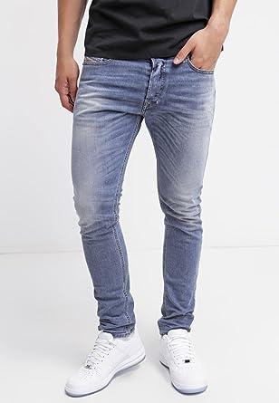 f9007931 Diesel Mens Tepphar 0842H Stretch Slim Carrot Jeans - Denim 01 - W28L30:  Amazon.co.uk: Clothing