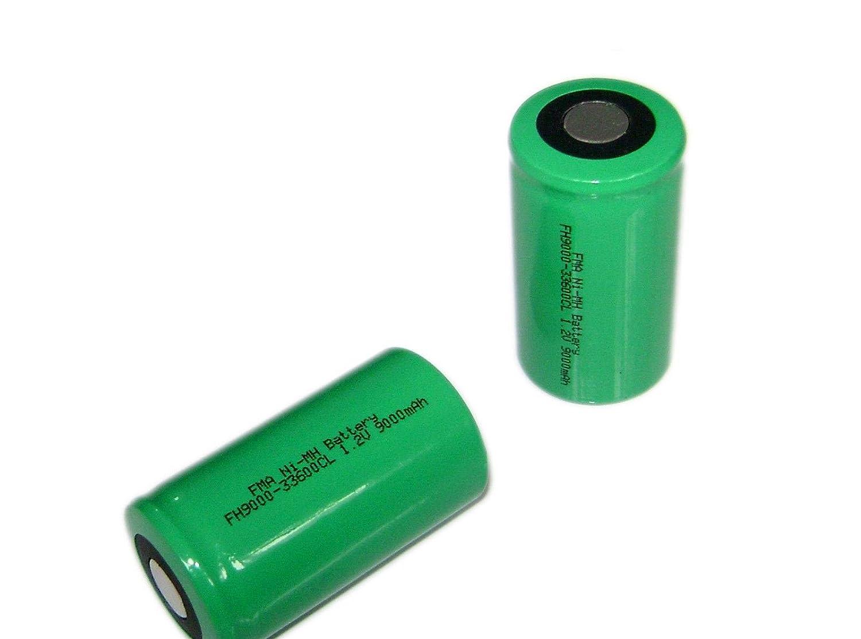 2 x 1.2 V 9000 mAh D : 3360 mm充電式バッテリーライトバックアップ電源