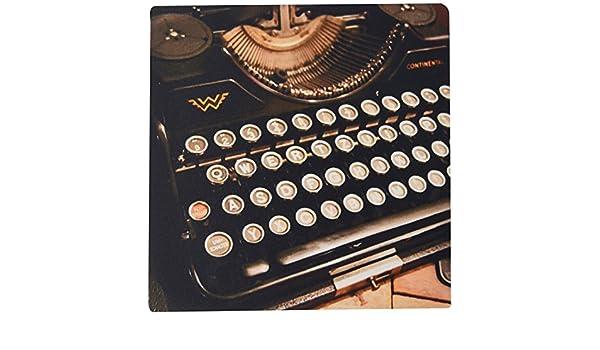 fongakde 9 x 7 x 0.25 Inches Mouse Pad, Continental máquina de escribir (MP _ 29072 _ 1): Amazon.es: Informática