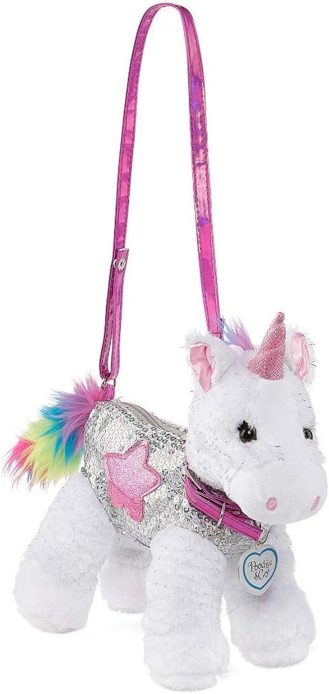 New Gymboree Panda Academy Bear Purse Plush Stuffed Animal Bag Pink Bow Girls