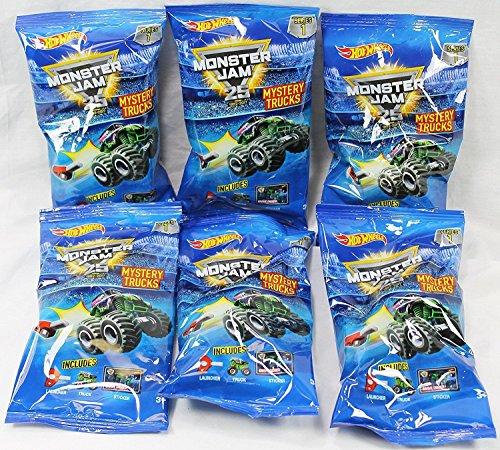 Truck Hot Wheels Mini (Hot Wheels Monster Jam Minis Truck Mystery Series 1 (6 Packs))