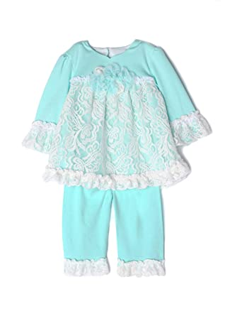 cc39f1c5f9ff Amazon.com  Isobella and Chloe Infant Baby Girl Clothes 3 6 9 Months ...