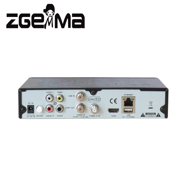 Zgemma H.2S Linux Enigma2 2 r/écepteur de t/él/évision par Satellite DVB-S2
