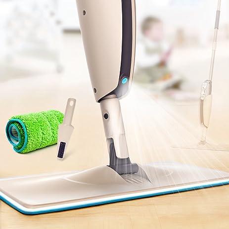 MangGou Microfiber Floor Mop, Professional 360 Degree Microfiber Spray Mop  Kit, Handle Cleaning Mop
