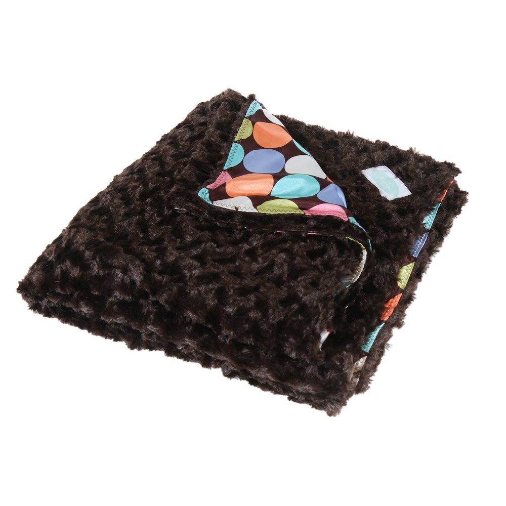 Allyzabba The MegaZabba Choco-dot Blanket X-Large - chocolate by AllyZabba
