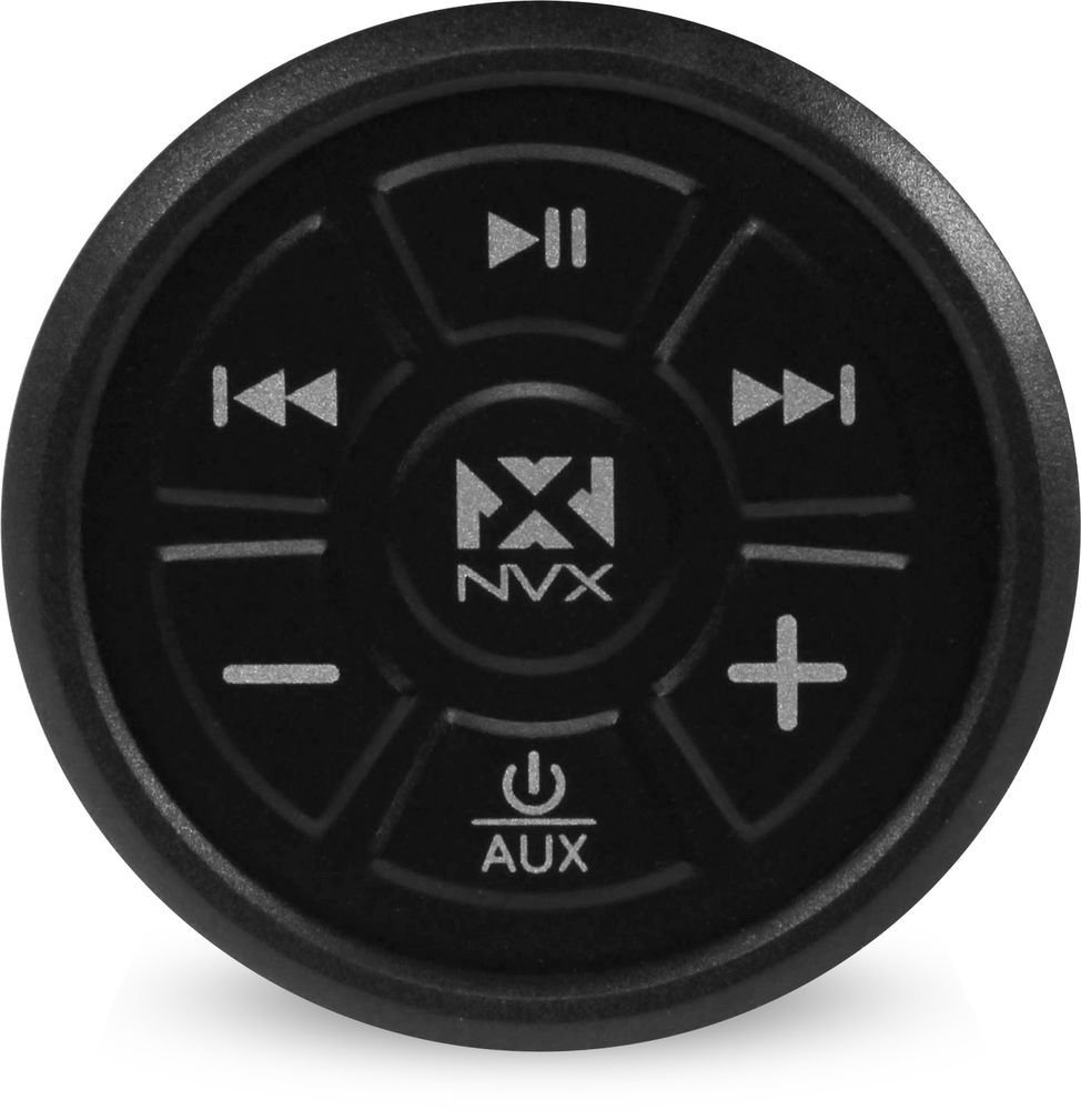 NVX Universal Marine Grade Bluetooth 4.0 Audio Receiver & Controller for Boats / Cars / ATV [XUBT4]