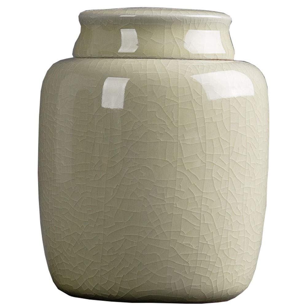 B Urns Adult Funeral Urn Ceramics Seal Cover Moisture Proof Handcrafted Cremation Urns for A Small Amount Human Or Pets Ashes