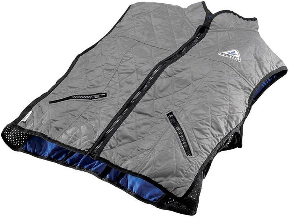 TechNiche International HyperKewl Evaporative Cooling Female Deluxe Sport Vest,Silver,Large