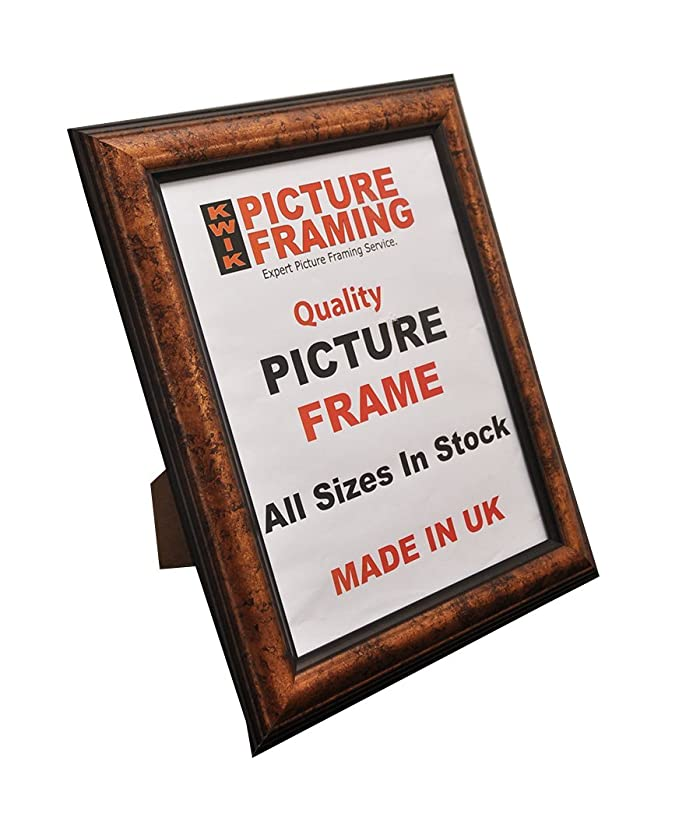 Amazon.de: Kwik Picture Framing: Copper Black Dome Polycore Picture ...