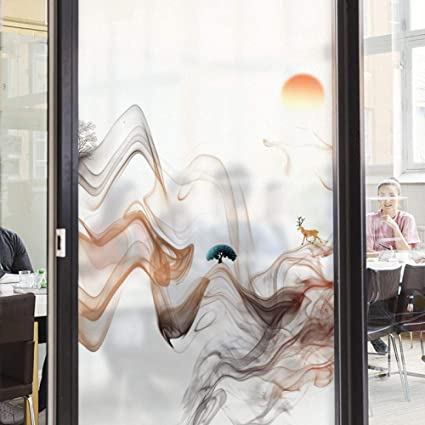 Vinilo Moderno de Vidrio Peeling Pegatinas Opaco Translúcido Bar Club Sala de Estar Puerta corredera Vidrio Pegatinas Decorativas: Amazon.es: Deportes y aire libre