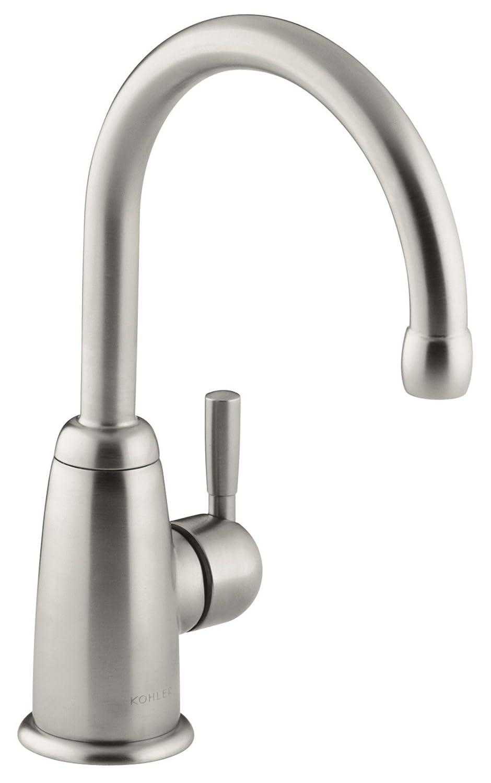 KOHLER K-6665-VS Wellspring Beverage Faucet, Vibrant Stainless