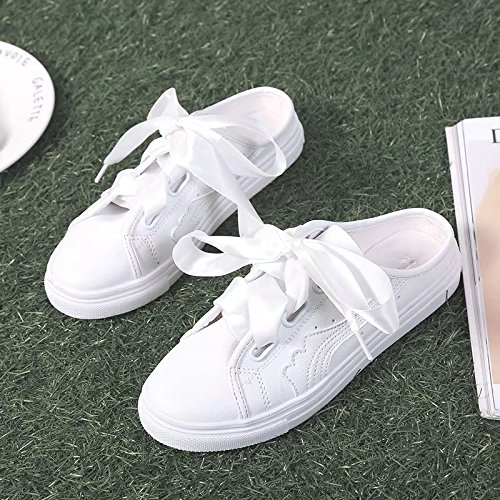 IANGL d' White Chaussures Little Chaussons Tongs Femme RnxwZRq4r