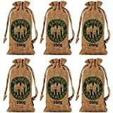 Kmise Reusable Air Purifying Bag Bamboo Charcoal Bag Air Freshener Odor Deodorizer 200g All Nature Bamboo for Home Cars Closets Bathrooms and Pet Areas
