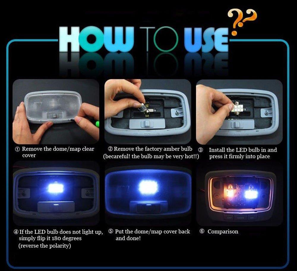 Amazon.com: For Toyota Rav4 Led Interior Lights Led Interior Car Lights Bulbs Kit White 2007-2018 12Pcs: Automotive