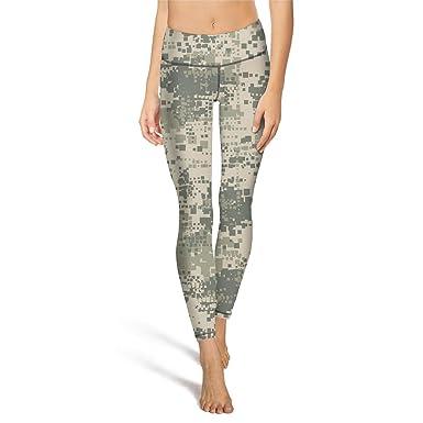 931c2aefdbf9f Amazon.com: Mackiintion Women's Desert camo USA Yoga Pants Sports Workout  Leggings Tight Running Pants: Clothing
