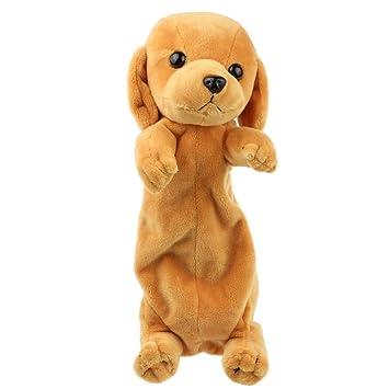 Estuche de peluche con forma de animal para niños y niñas ...