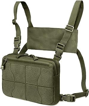 WYNEX Recon Kit Bag, Tactical Combat Chest Pack Molle Vest Bags ...