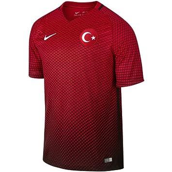 Nike Selección de Fútbol de Turquía 2015/2016 - Camiseta Oficial, Talla XS