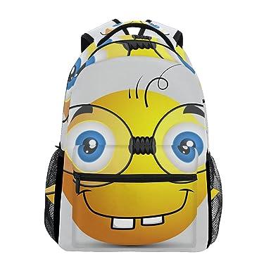 Amazon.com | LORVIES Funny Emoji Smiley Emoticon Casual ...