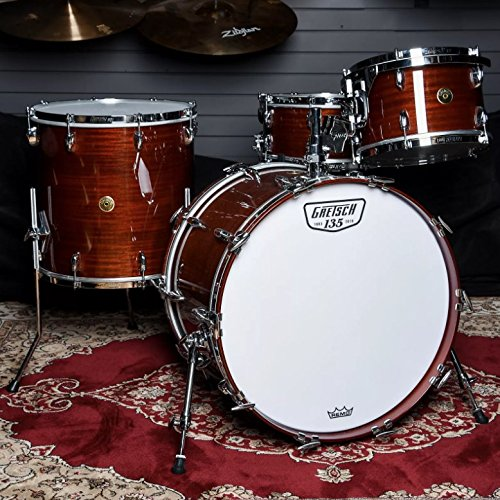 Gretsch Les Paul - Gretsch 135th Anniversary 12/16/22 4pc Rock Kit Classic Mahogany w/6.5x14 snare