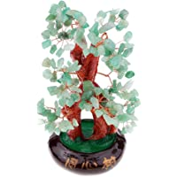 MagiDeal Multicolor Crystal Money Tree Bring Wealth Lucky Tree Office Home Decor