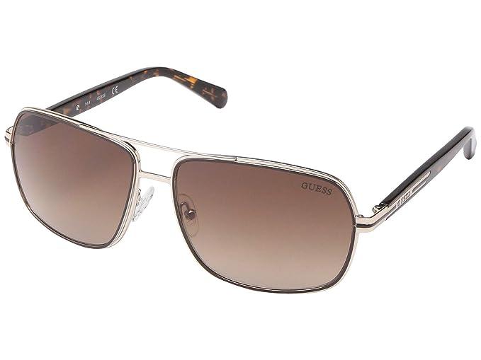 Amazon.com: GUESS Factory - Gafas de sol con doble forro ...