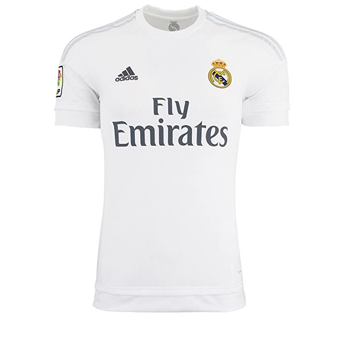 new styles 1783d 2611a adidas Mens Real Madrid Home Replica Soccer Jersey