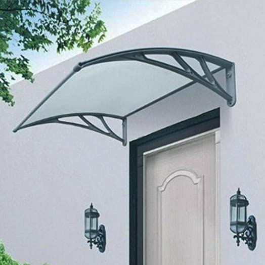 Marko Door Canopy Smoking Area Rain Shelter Outdoor Awning Window Cover Sun Protector Large