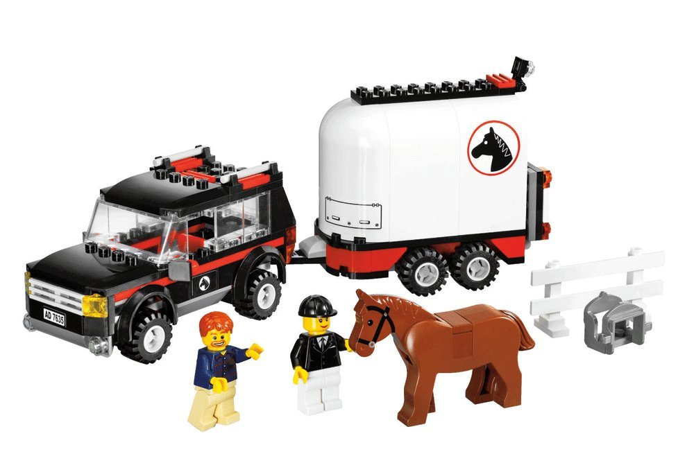 LEGO City 7635 4WD with Horse Trailer