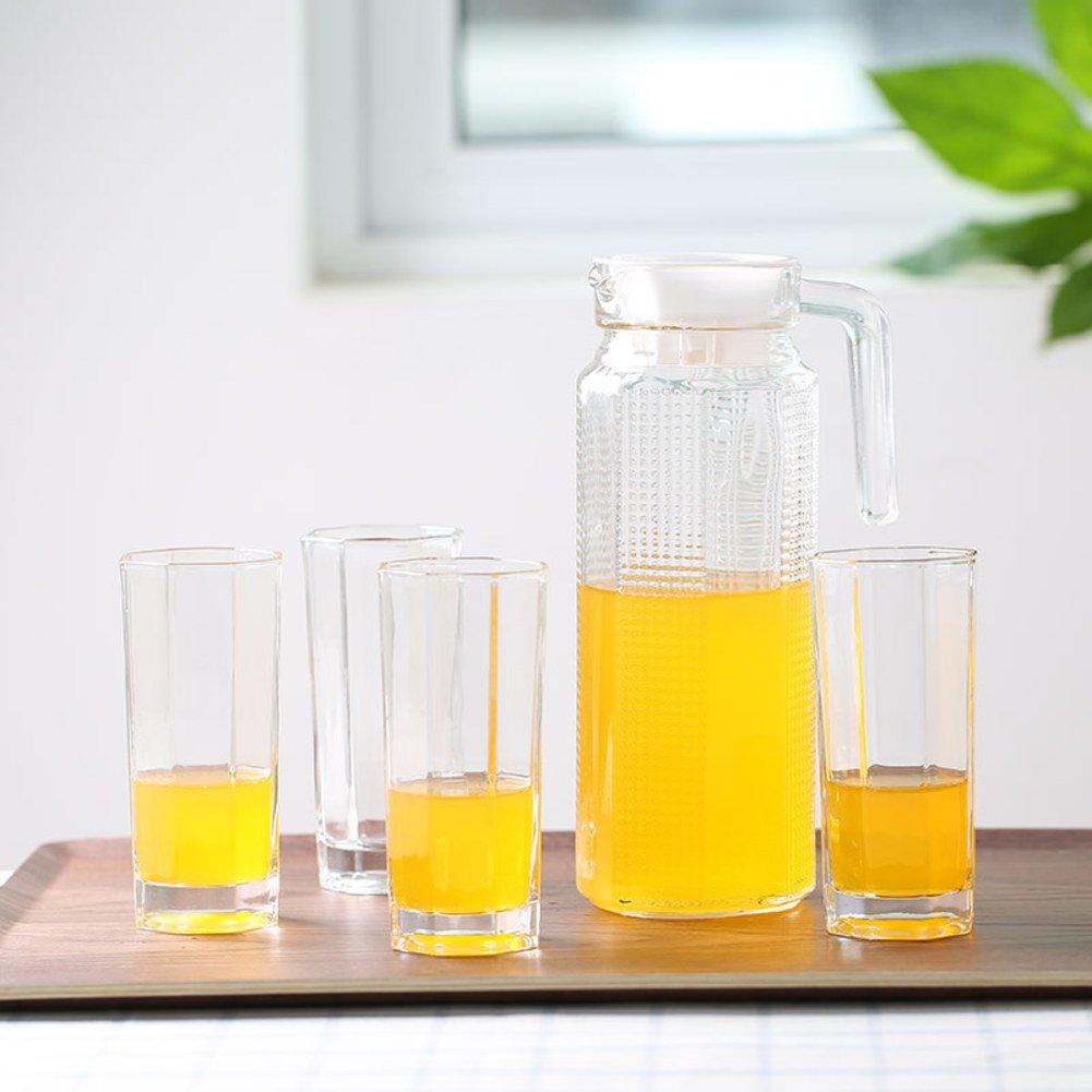 Xwuhan Wasser Kit Hitzebeständig,Glas-kit Kreative Kapazität Teekanne Transparente Sirup Wasserkocher-A