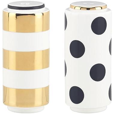 kate spade new york Fairmount Park Dot Stripe Salt & Pepper Shaker Set