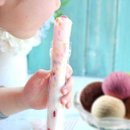 Mold de helado de paletas DIY desechable Congelador herramientas de crema Moldes de paletas Paquete de