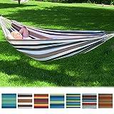 Sunnydaze Double Brazilian Hammocks - Multiple Colors & Options to Choose