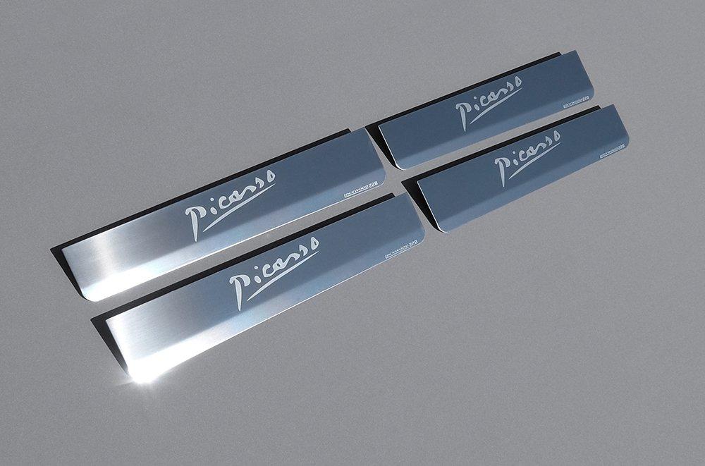 Lote de platos protectores de umbral de la segunda generaci/ón C4 Grand Picasso lanzados en 2013
